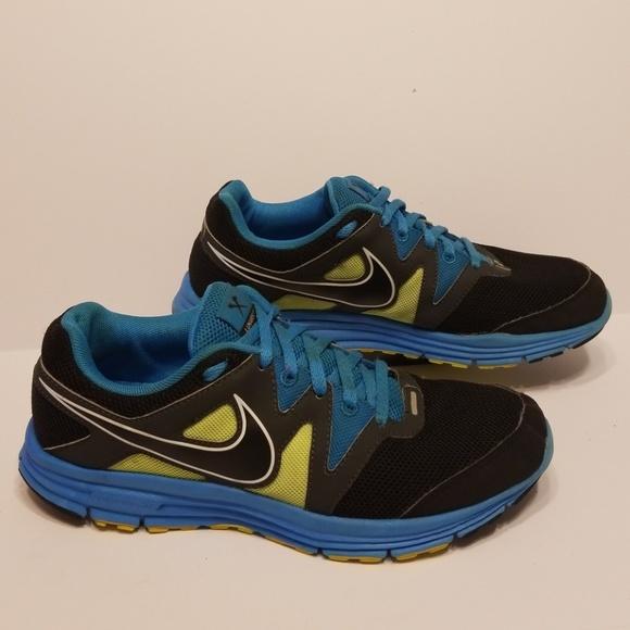 Blue Nike Lunarfly 3 Tennis Shoes Size 7.5